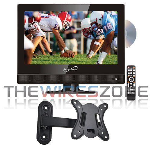 Supersonic Sc 1312 13 3 Quot Led Widescreen Hdtv With Dvd