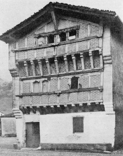 La arquitectura del caser o vasco basque vascos - Arquitectura pais vasco ...