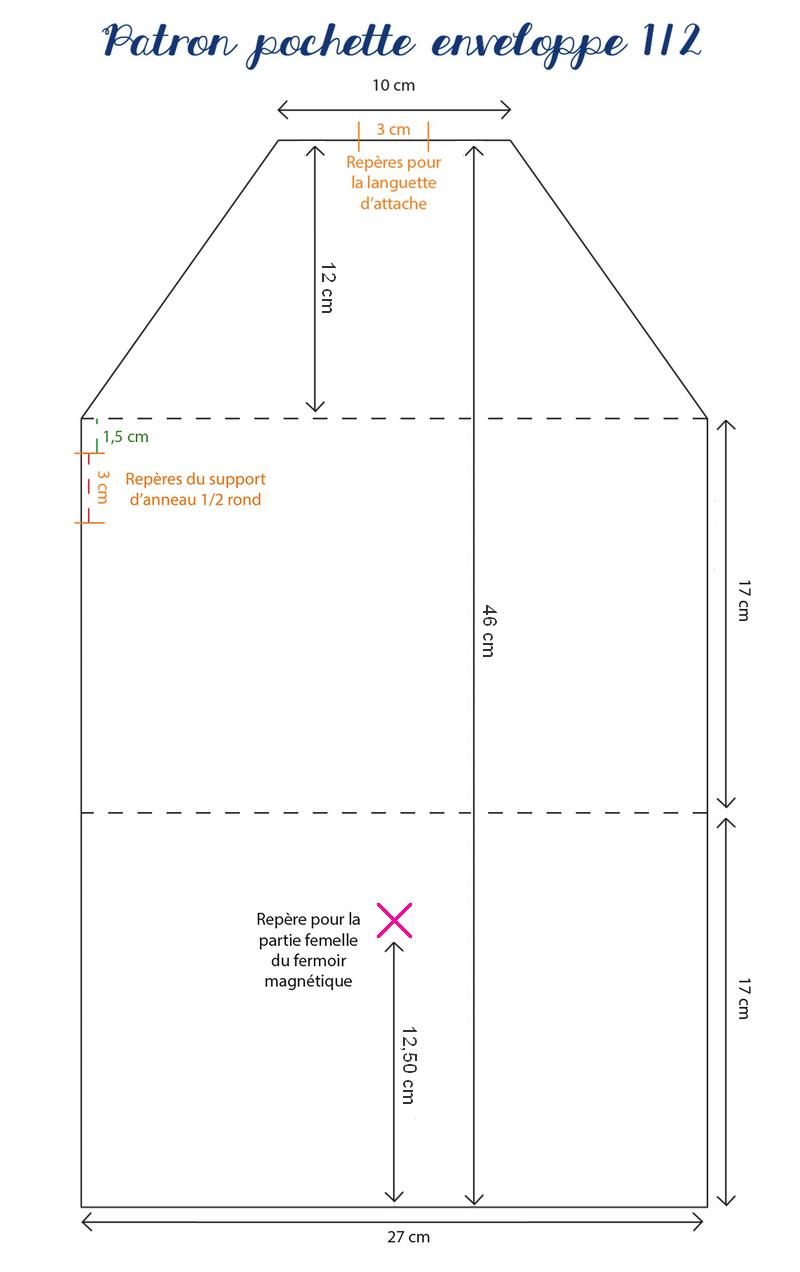 tuto pochette enveloppe en simili cuir wajdia pinterest. Black Bedroom Furniture Sets. Home Design Ideas