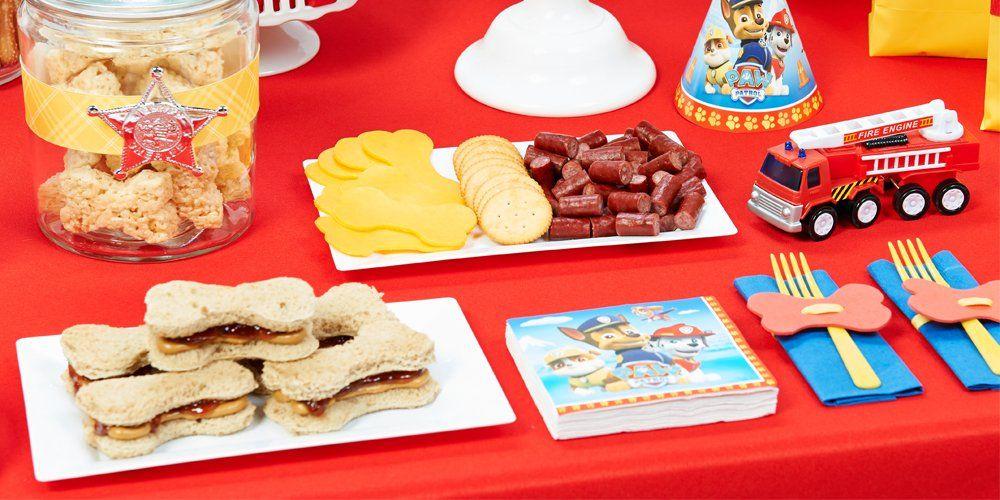 PAW Patrol Birthday Party Planning Ideas Supplies