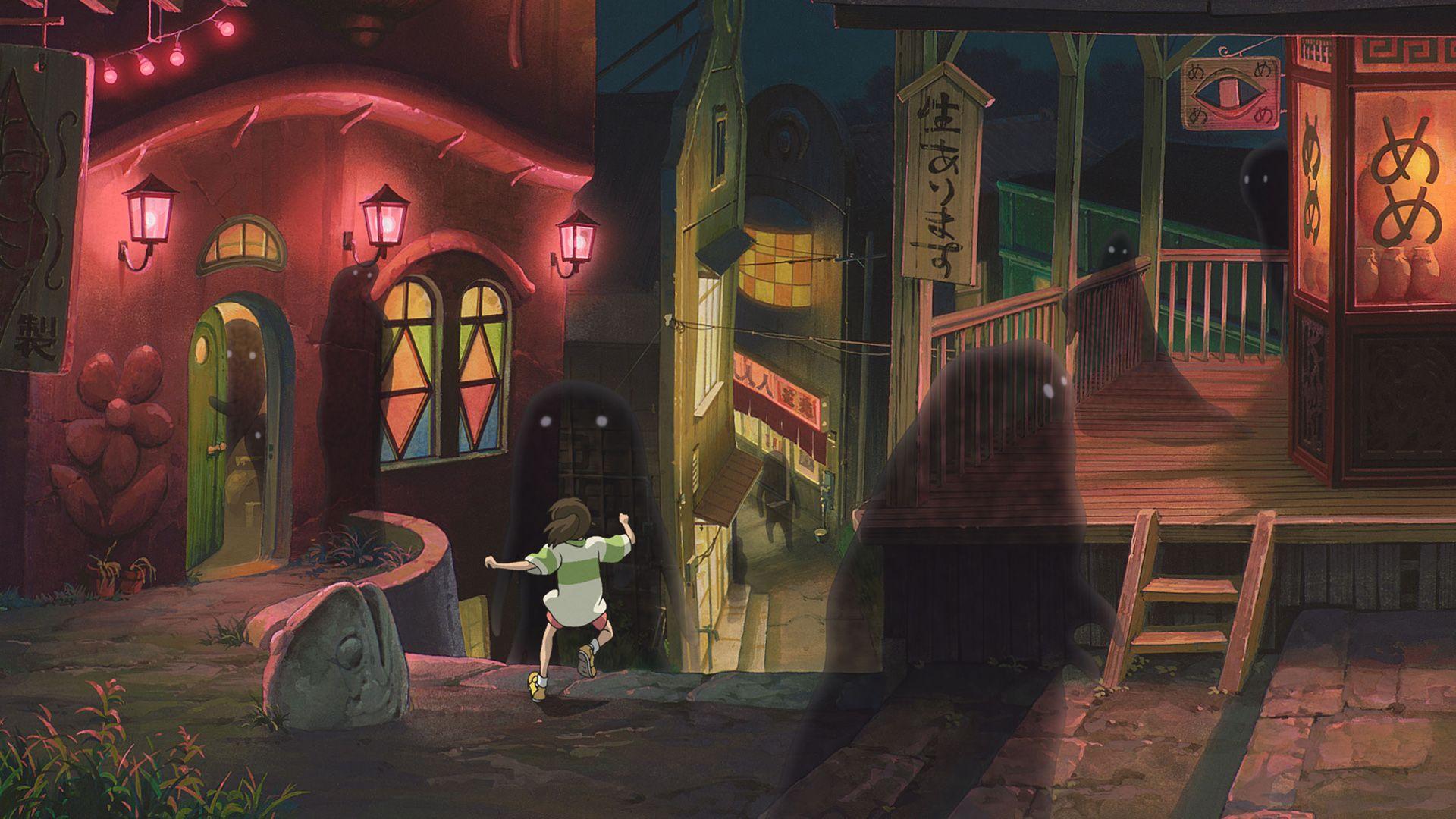 Spirited Away Hd Wallpaper 1920x1080 Studio Ghibli Movies Spirited Away Wallpaper Best Japanese Anime