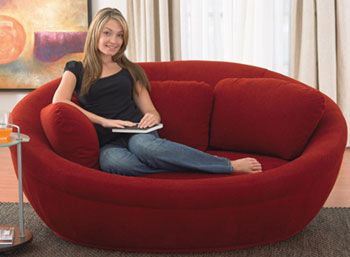 Modern Round Sofa Bedroom Couch Sofa Design Furniture Design Living Room