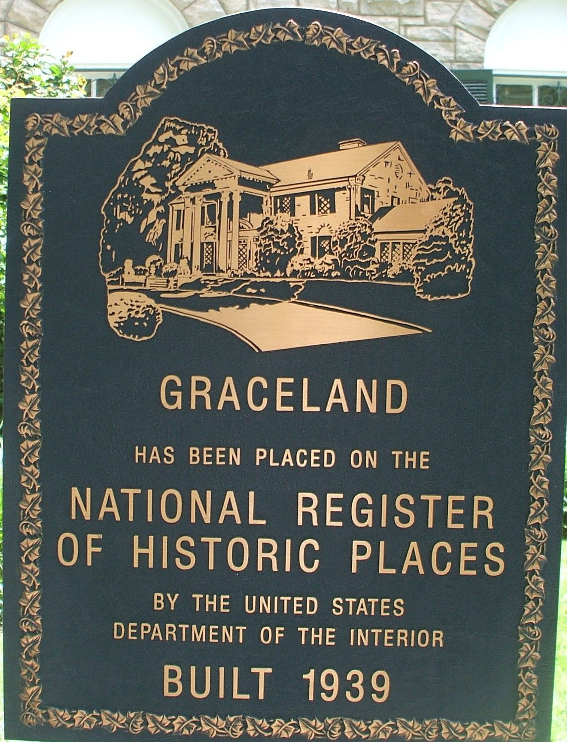 Graceland Has Been Placed On The National Register Of Historic Places By The United States