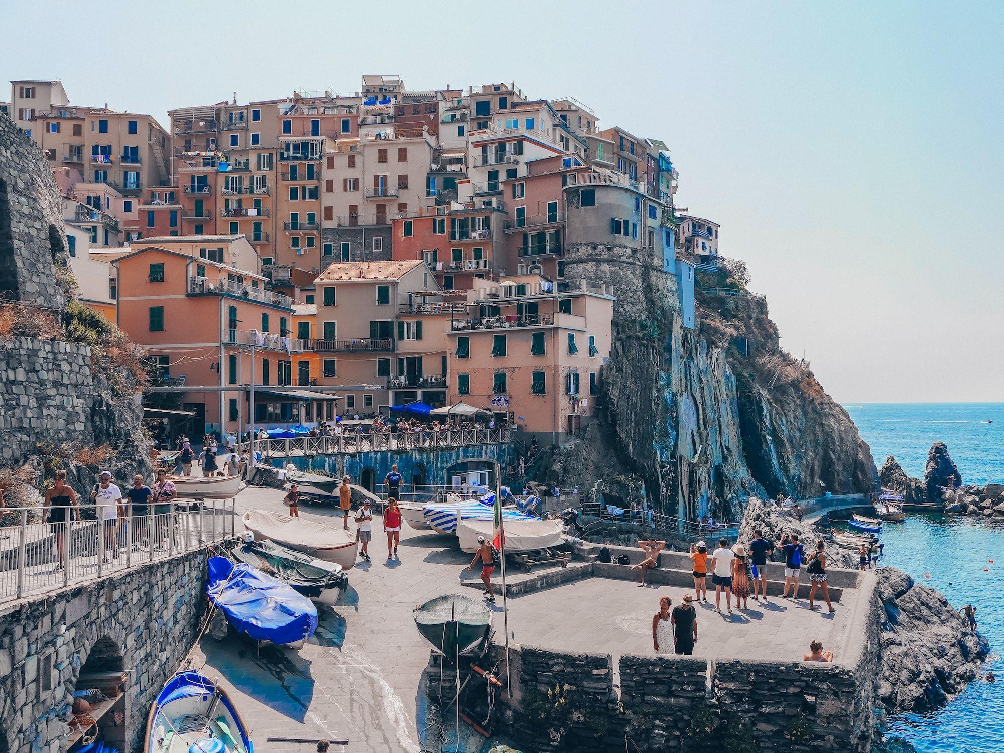Manarola Cinque Terre En Italie Ou Dormir Ou Manger Cinque