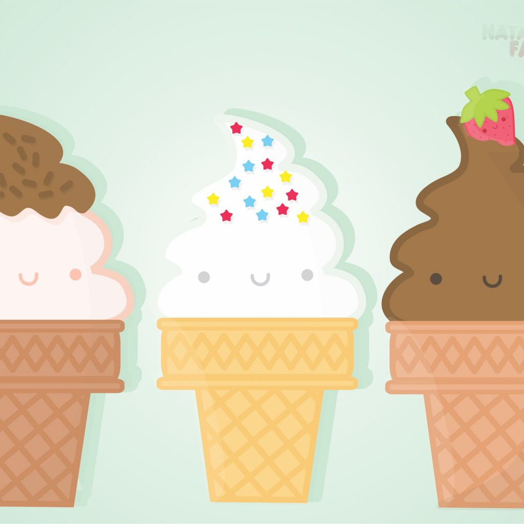 Download Melting Ice Cream Wallpaper Gallery: Original Wallpaper Size Of Cute Ice-cream IPad Wallpaper