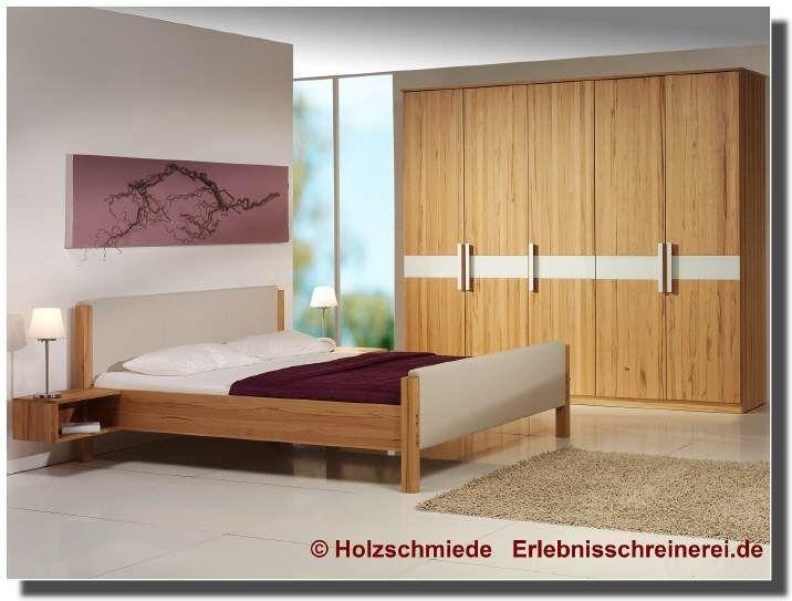 Bett Scala Mit Kopfteil Und Fussteil Aus Leder Schlafzimmermobel Zimmer Haus Deko