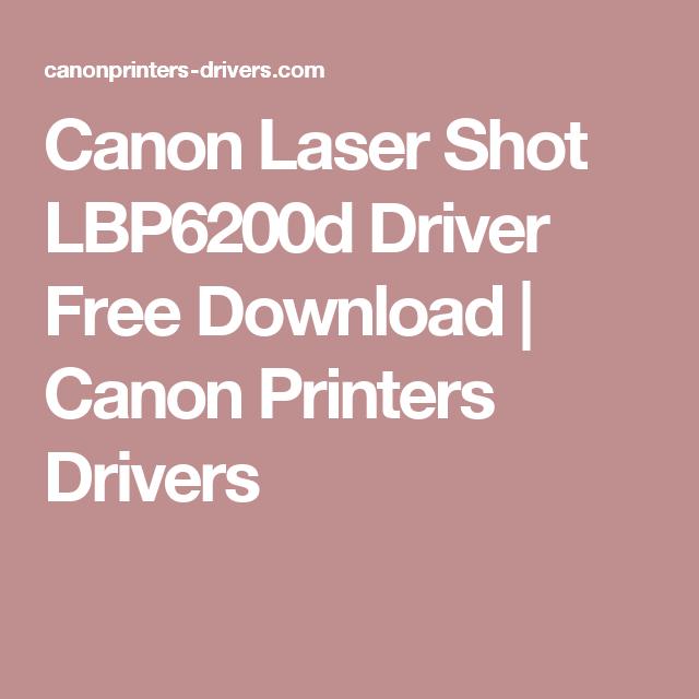 canon lbp6200d driver download