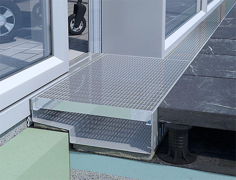 gitterrost mit gleitschutz mw ca 30 10 mm haus pinterest. Black Bedroom Furniture Sets. Home Design Ideas