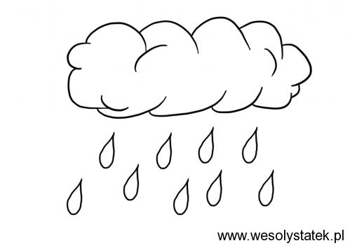 kleurplaat regen zoeken tekeningen versjes