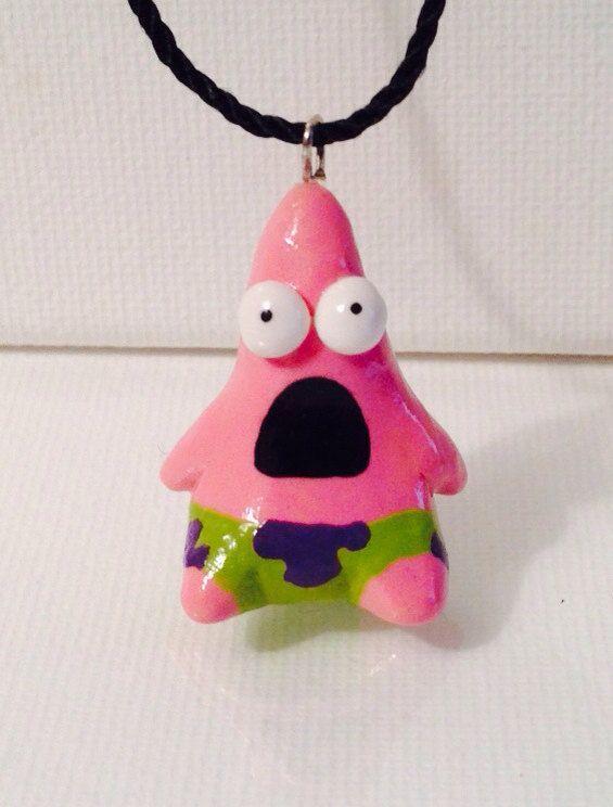 Items similar to Patrick Star Funny Meme-Face Neck