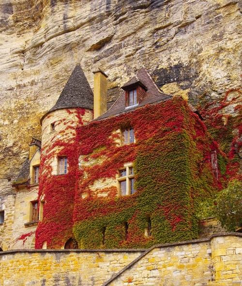 12th Century Fortress, Normandy, France
