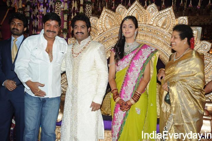 Junior Ntr Marriage 61 Jr Ntr And Lakshmi Pranathi Wedding Photos Wedding Photos Marriage Wedding