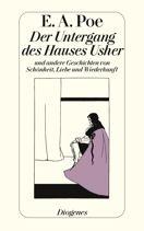 Edgar Allan Poe  |  Der Untergang des Hauses Usher  |  Erzählung, Taschenbuch, 256Seiten http://www.diogenes.ch/leser/katalog/nach_autoren/a-z/p/9783257211825/buch