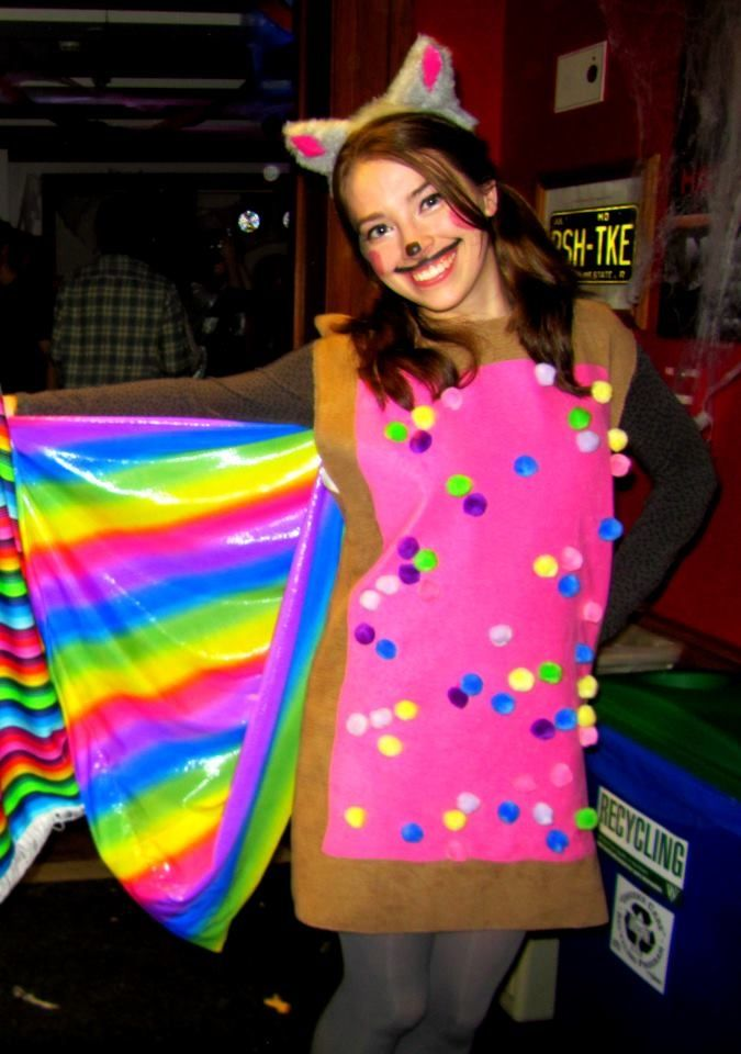 Nyan Cat Halloween Costume  sc 1 st  Pinterest & 35 Nerd Halloween Costume Ideas To Try | Pinterest | Halloween ...