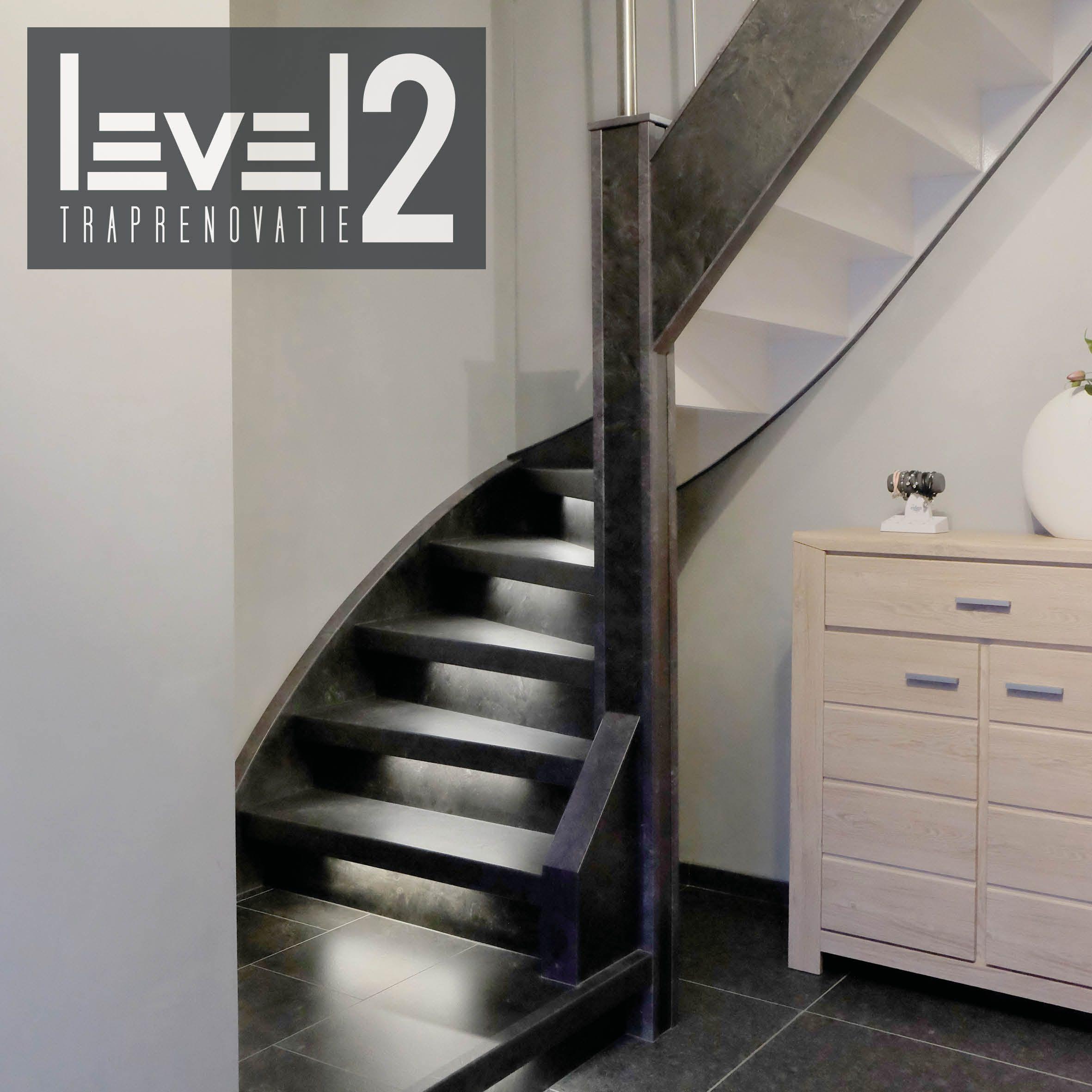 level2 traprenovatie #trap bekleden #trap renoveren #traprenovatie ...