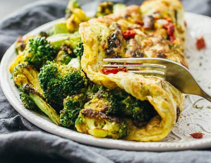Irresistible Vegetarian Omelets to Make for Breakfast 15 Irresistible Vegetarian Omelets to Make for Breakfast: Curried Omelette with Broccoli and Sun-Dried TomatoesSundries  Sundries (singular sundry) may refer to: