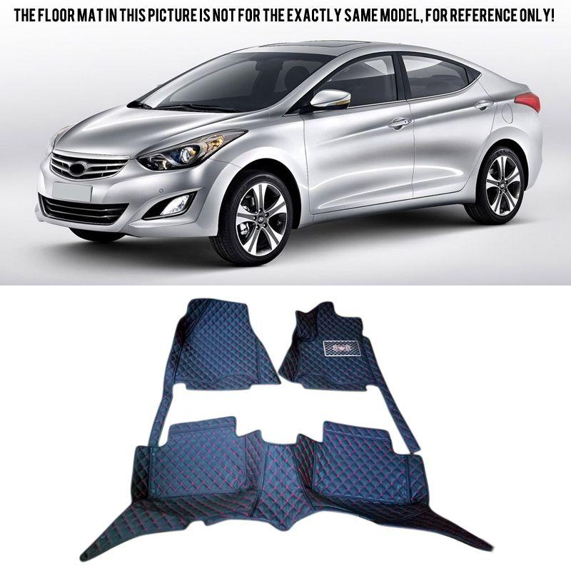 4pcs Chrome Door Handle Semi Grand Bowl Cover Trim For Hyundai Elantra 2011-2016