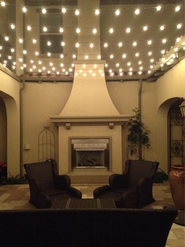 Frugelegance On House Ideas Pinterest Outdoor String Lighting