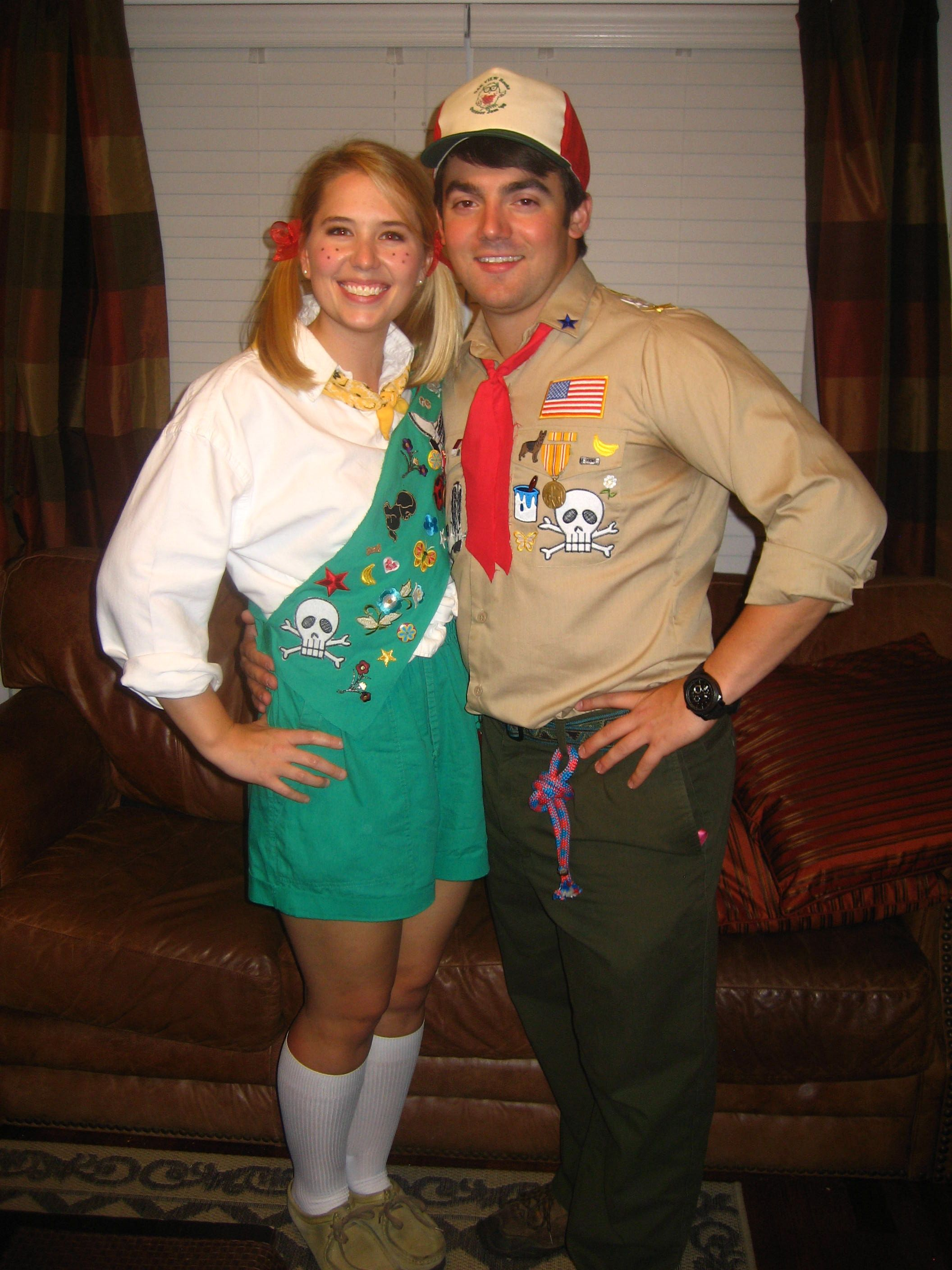 cute halloween costume girl scout/boy scout | all holidays in 2018