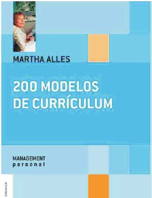 Descarga Libro 200 Modelos de Currículum – Martha Alles– PDF – Español  http://helpbookhn.blogspot.com/2014/07/200-modelos-de-curriculum-martha-alles.html