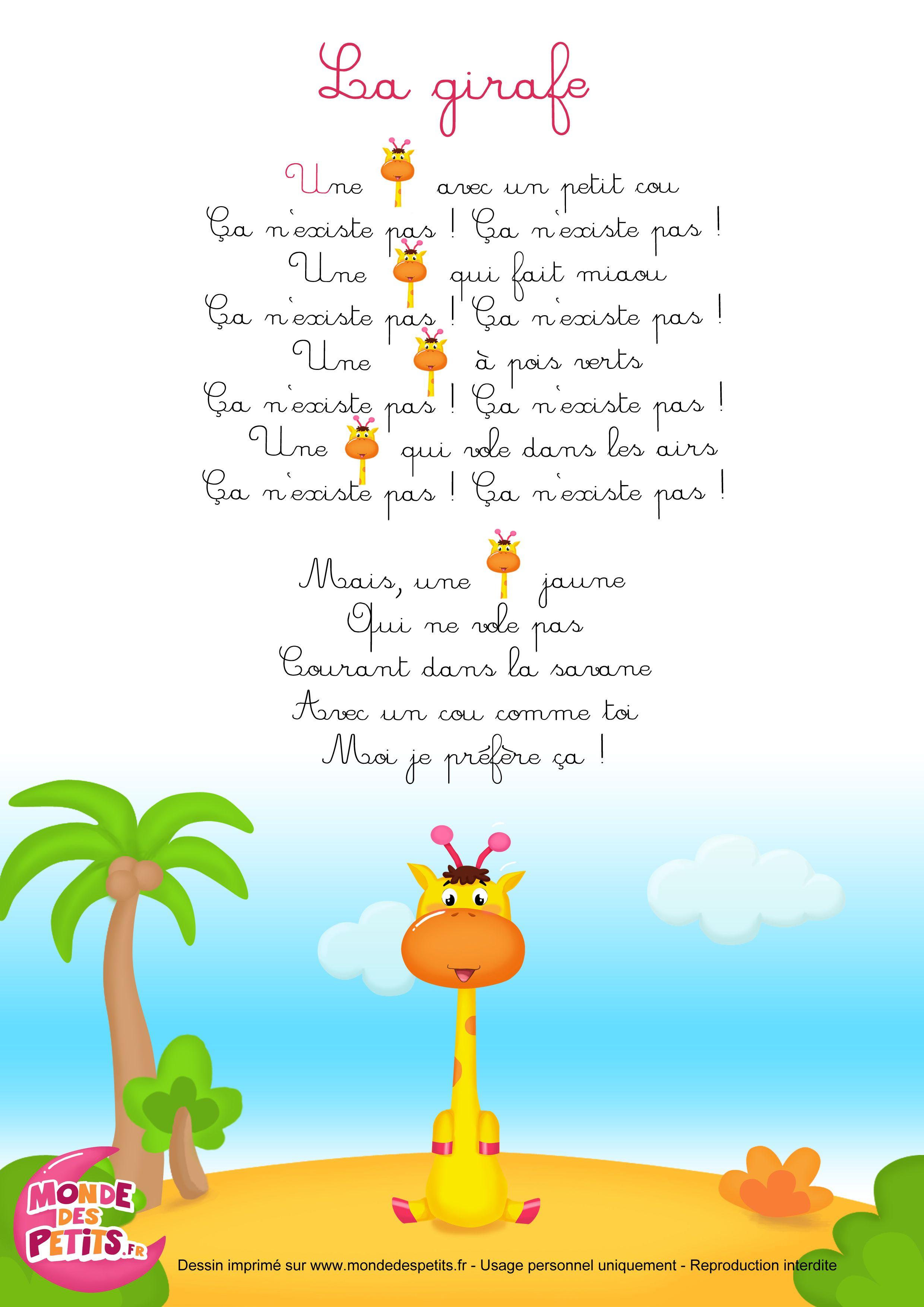 comptine-girafe.