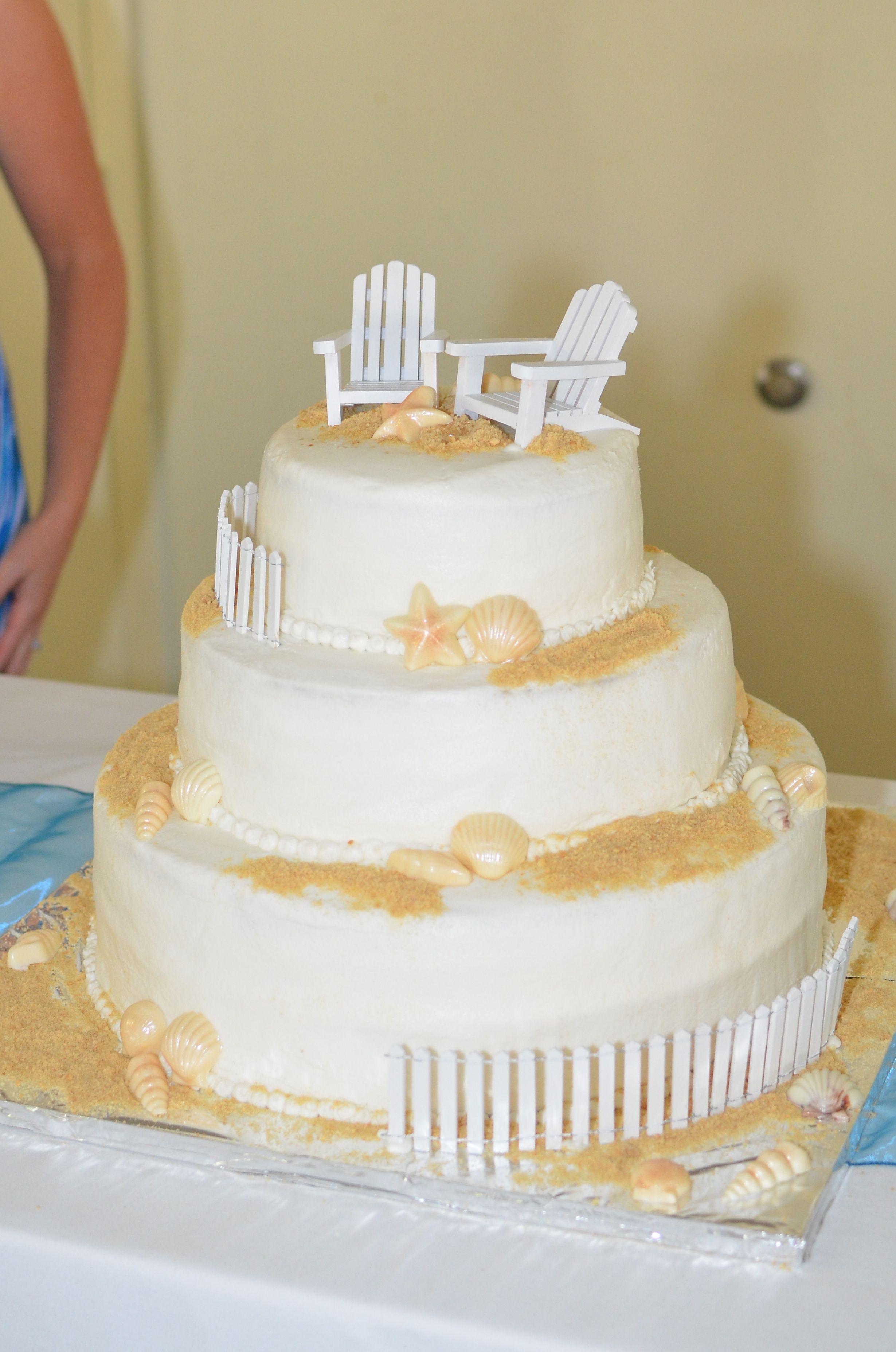 Beach Wedding Cake | My Cakes | Pinterest | Beach wedding cakes ...