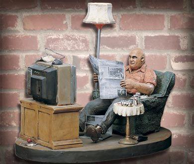 Evening News by Michael Garman - $399.99