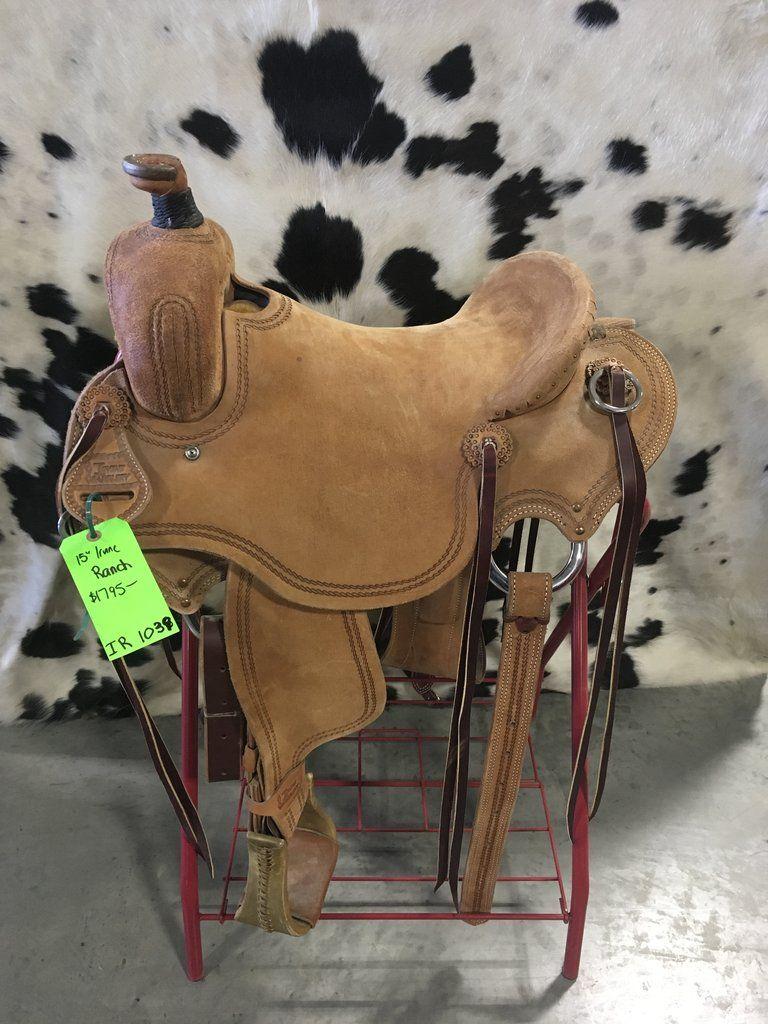 "15"" Irvine Ranch Saddle Saddles, Cowboy hats, Back on"