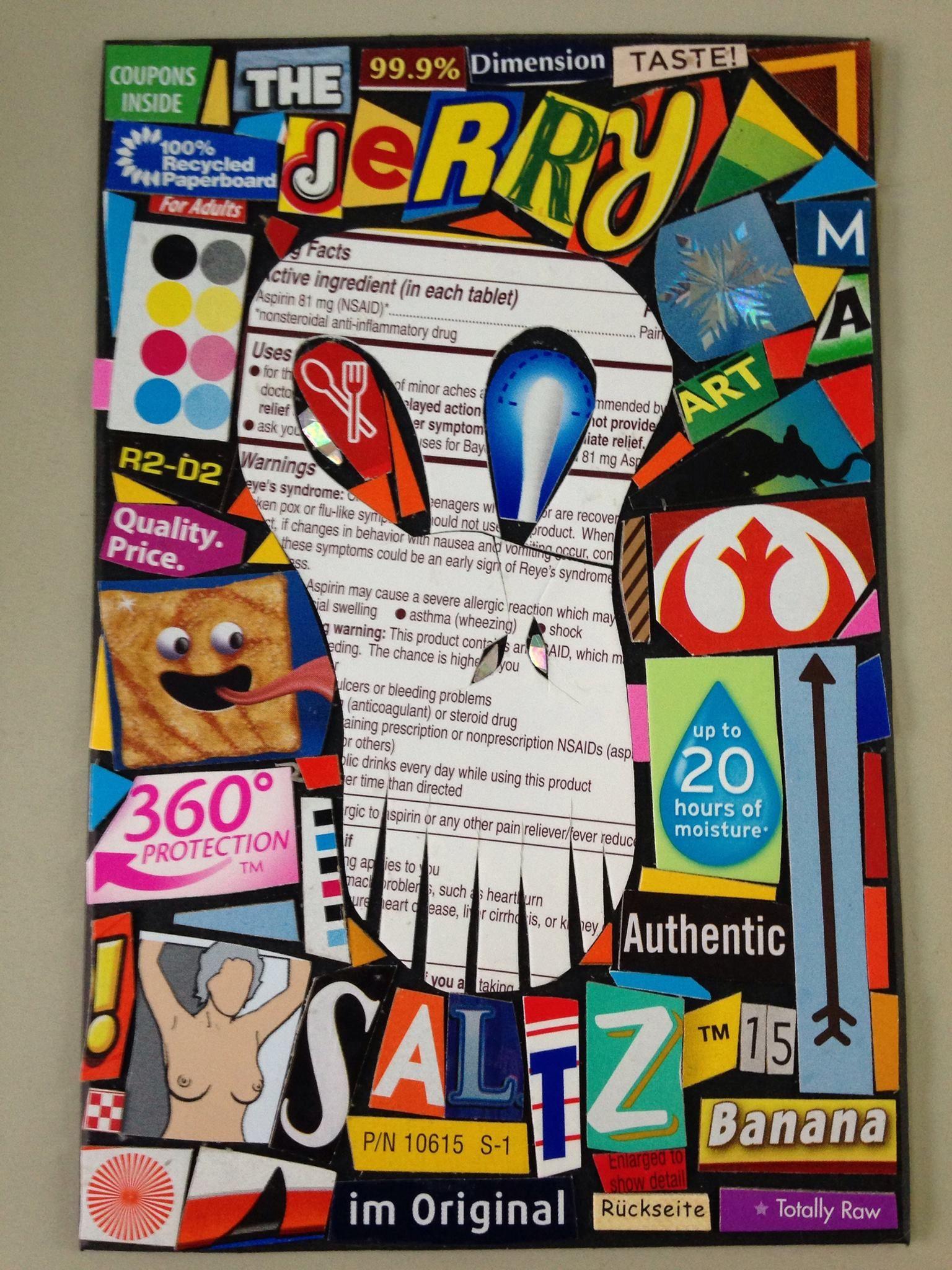 Gift for jerry saltz art critic 2015 gifts skull art