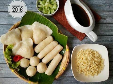 Resep Pempek Dos Enak Walau Tanpa Ikan Oleh Sukmawati Rs Resep Resep Resep Vegetarian Makanan Dan Minuman