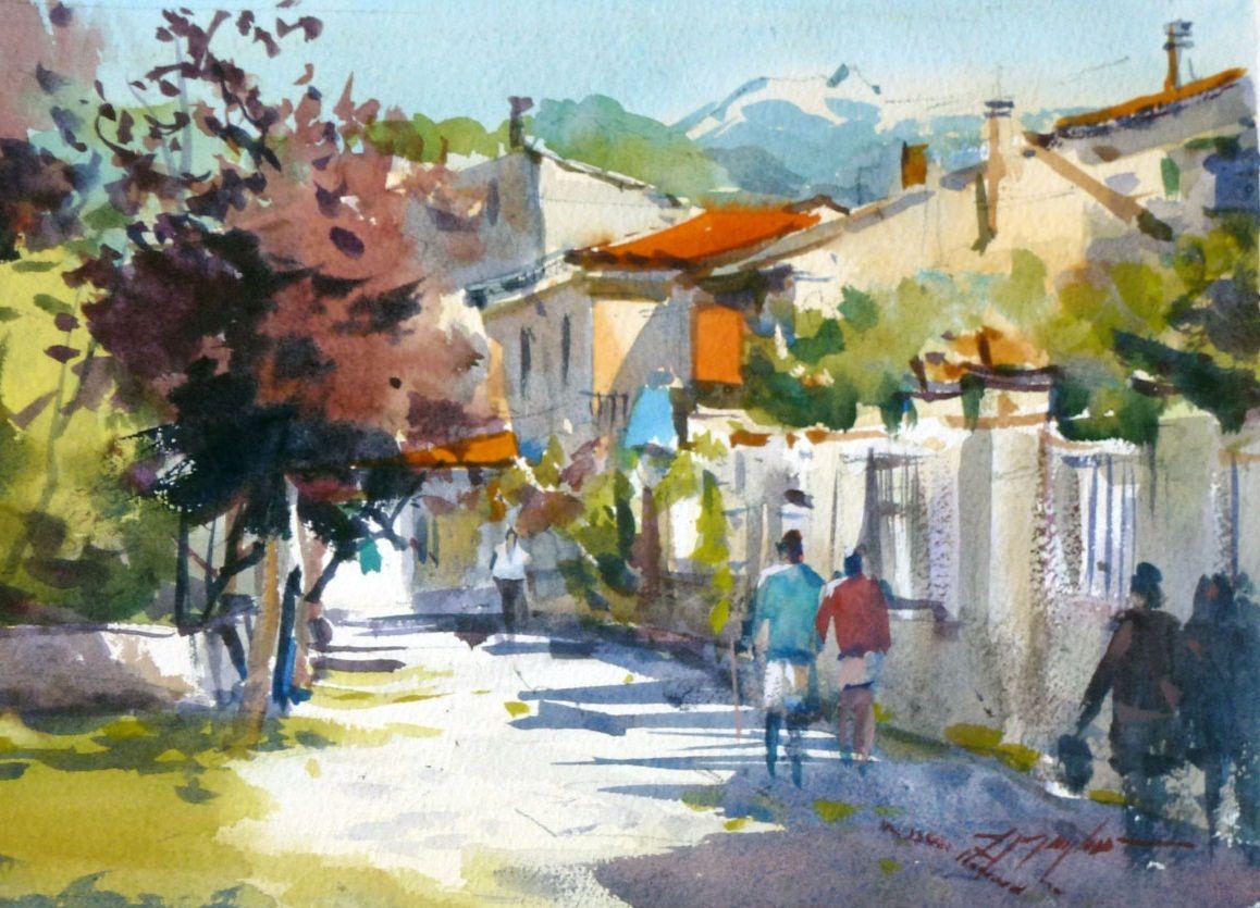 fabio cembranelli watercolor - Google Search   Fabio ...