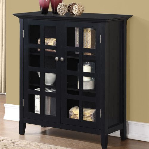 Mayna 2 Door Accent Cabinet Simpli Home Media Storage Cabinet Accent Storage Cabinet