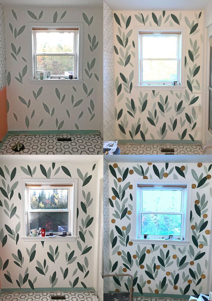 Photo of How to Paint Over Wallpaper in a Bathroom   DIY   Fynes Designs