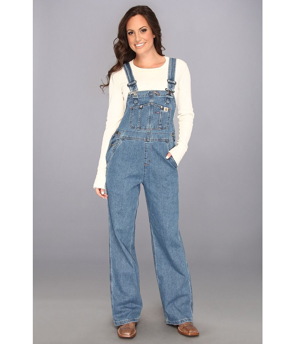 100% authenticated get new 2020 CARHARTT CARHARTT - DENIM BIB OVERALL UNLINED (FADED BLUE ...