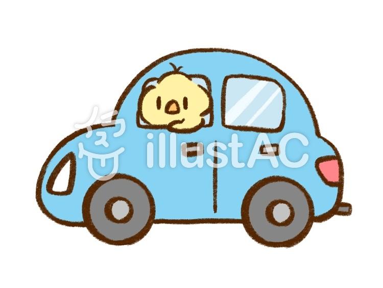 ひよこ 車 ひよこ ヒヨコ 鳥 イラスト 素材 無料素材 かわいい 絵本 シンプル イラストac 車 Car Illustration Bird Free Freematerial ひよこ 車 イラスト イラスト