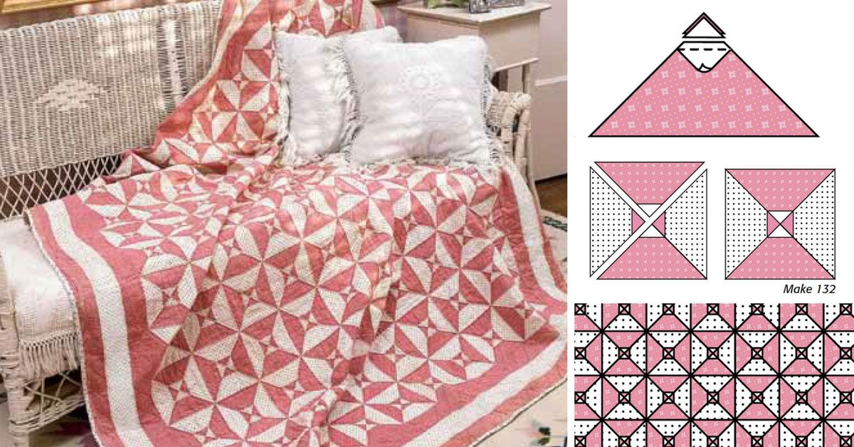 Freebie Friday Spinning Spools Quilt patterns free