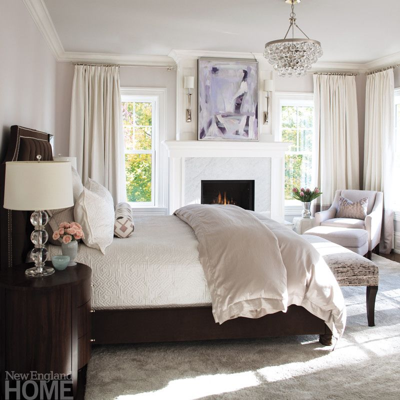 In The Master Bedroom, The Walls And Ceiling Wear The