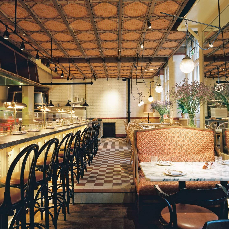 5 Star Restaurants In London Restaurant Chiltern Firehouse Luxury