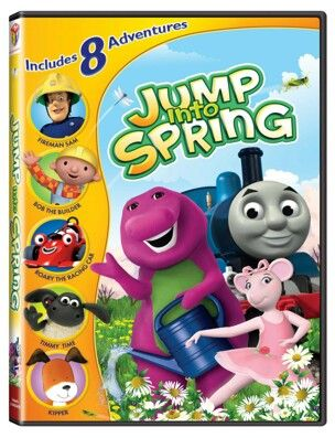 Barney Jump Into Spring 2011 Thomas Amp Friends Don T