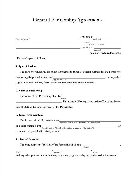 Business Contract Template \u2013 10+ Free Word, PDF Documents Download