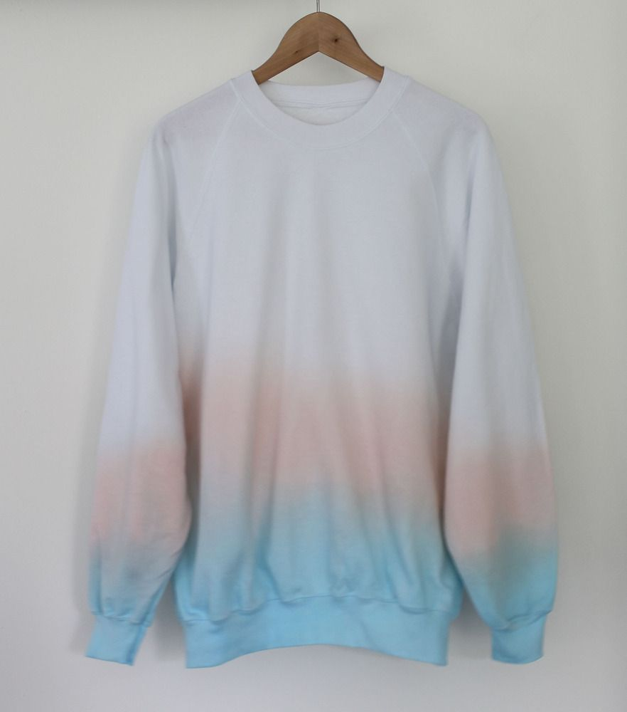 Andclothing Sun Rise Dip Dye Sweater Dipdye Ombre Clothes Clothes Sweaters [ 1000 x 882 Pixel ]