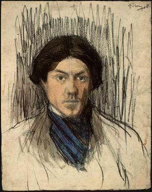 Self-Portrait by Pablo Picasso 1902