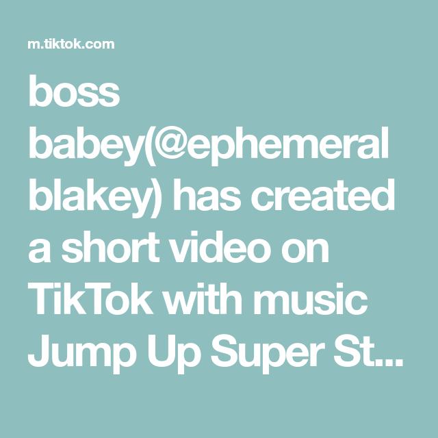 Boss Babey Ephemeralblakey Has Created A Short Video On Tiktok With Music Jump Up Super Star Vgr Remix F Teachers Day Gifts Diy Gift Card Cute Birthday Cards