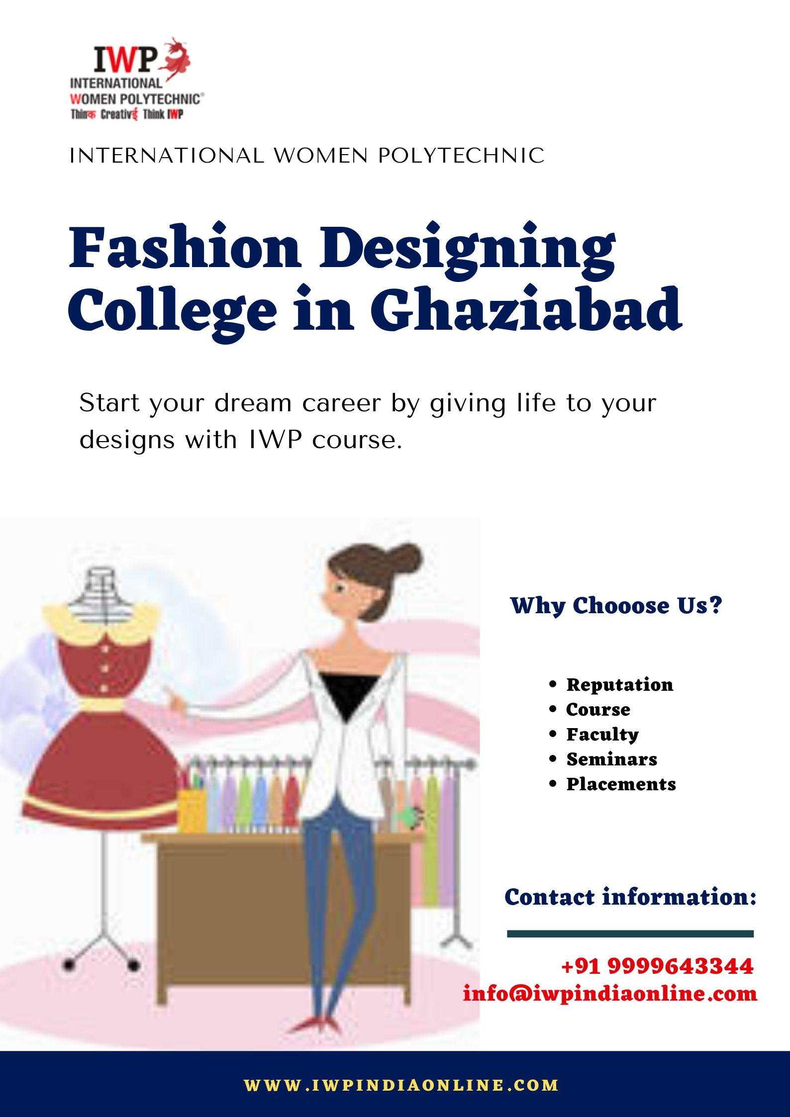 Fashion Designing College In Ghaziabad Fashion Designing Colleges Fashion Designing Institute Career In Fashion Designing