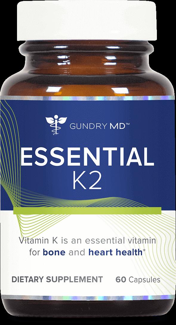 Essential K2 | Gundry MD™. Bone and Heart Health