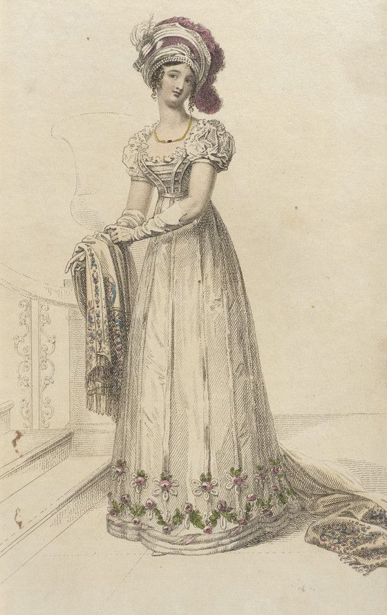 Fashion Plate (Evening Dress) | LACMA Collections