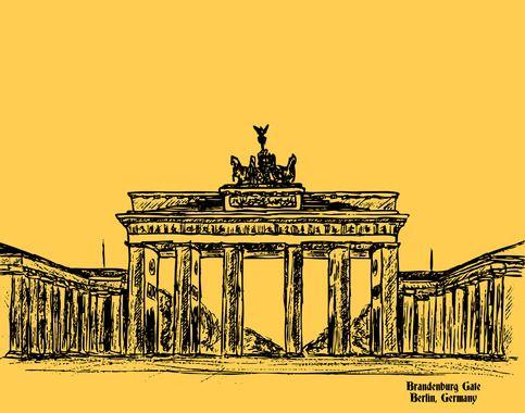 Brandenburg Gate Brandenburger Tor Brandenburger Tor Kunst Brandenburg
