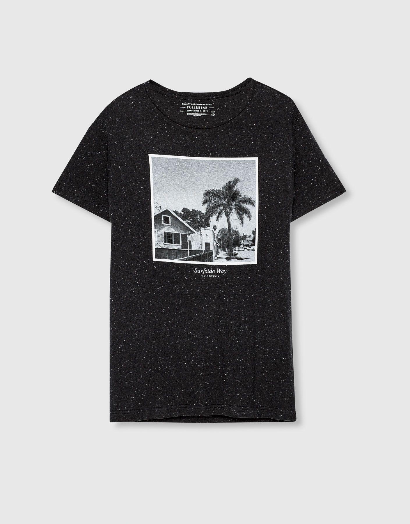 Printed T-shirt - Clothing - New - Man - PULL&BEAR United Kingdom ??