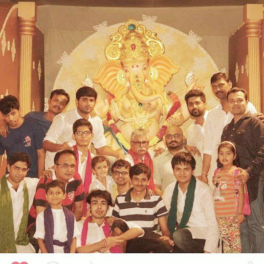 New pin for Ganpati Festival 2015 is created by by heramb27 with #RikkiBhavan #grouppic #ganpatibappa #10thday #visarjanday