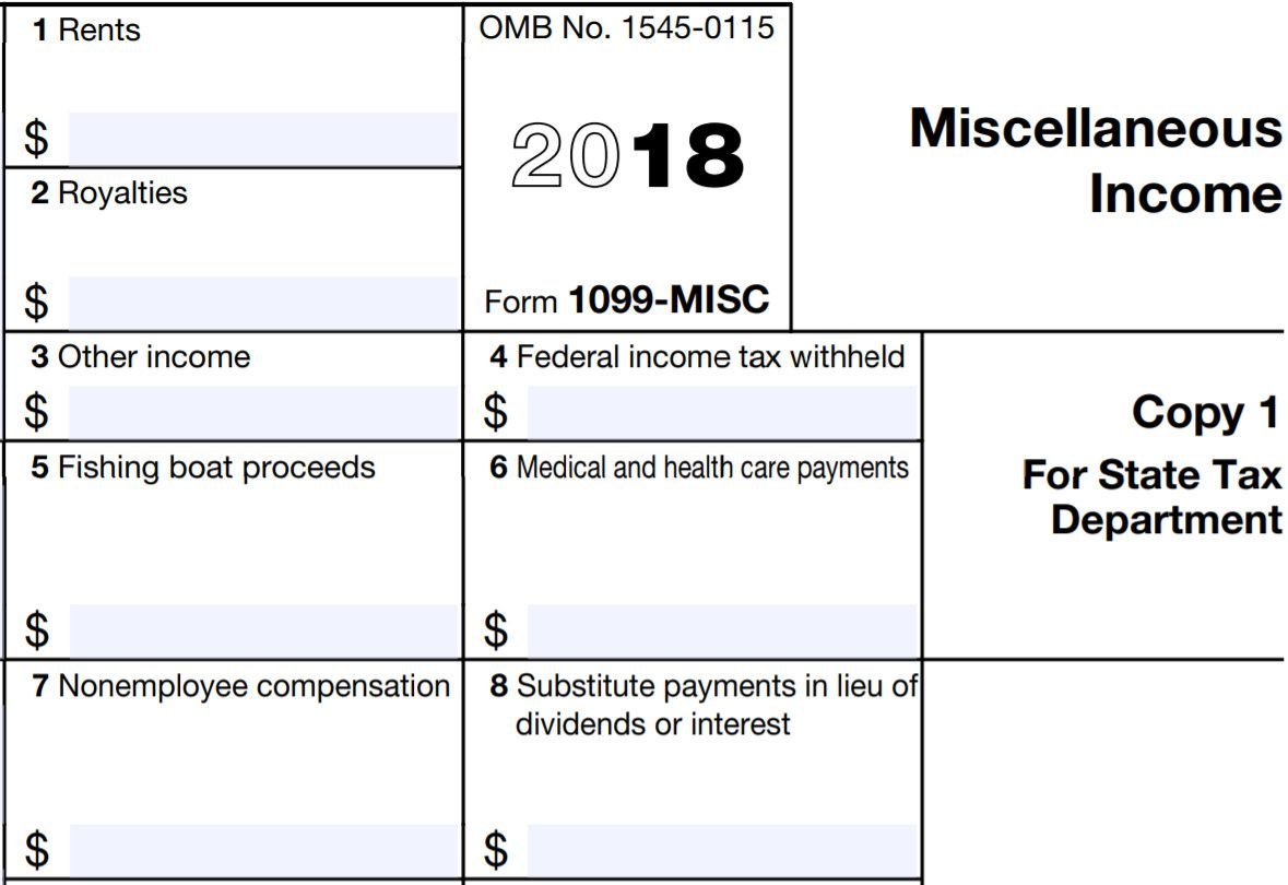 28 Downloadable 1099 Misc form in 2020 (With images